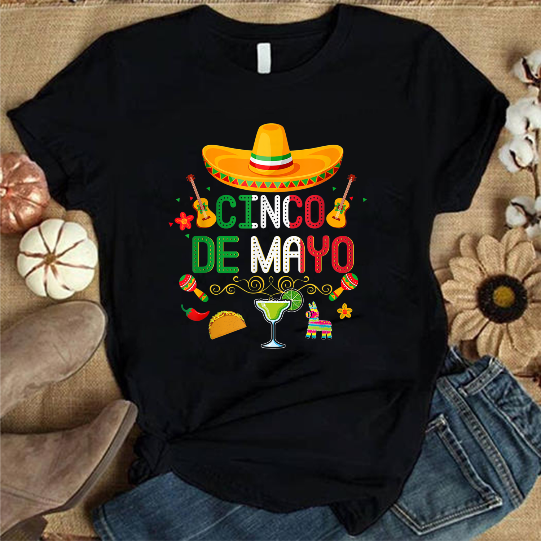 2021 Gift, Happy Cinco de Mayo 5 de Mayo for Women Men Kids , Family Matching Trending Unisex Hoodies Sweatshirt Long Sleeve V Neck Kid T Shirt