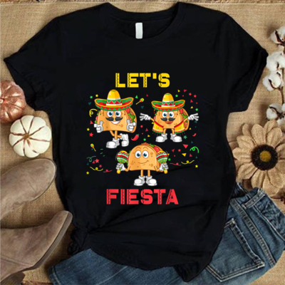 2021 Gift shirt,Happy Cinco de Mayo 5 de Mayo for Women Men Kids,  Cinco de Mayo Gift, Let's Fiesta Trending Unisex Hoodies Sweatshirt Long Sleeve V Neck Kid T Shirt