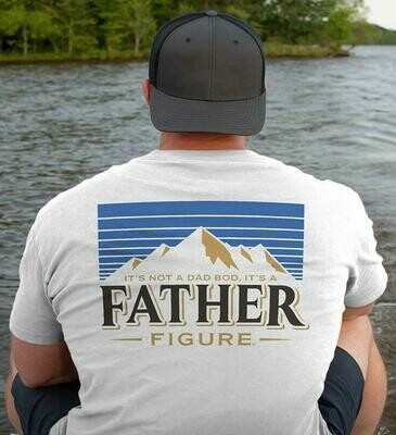 It's Not A Dad Bod It's A Father Figure Mountain T-Shirt Back Print, Happy 2021 Father's Day Trending Hoodies Sweatshirt Long Sleeve V Neck Tank Top Kid Tee T Shirt