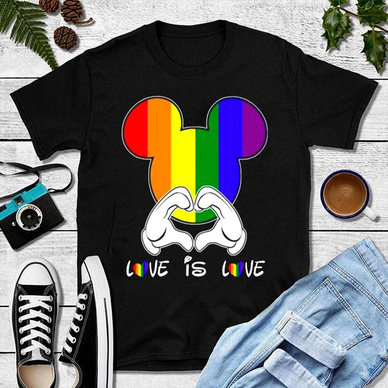2021 Love Is Love Mickey Shirt,LGBT Shirt,Gender Equality Shirt,Gay Pride Shirt,Lesbian Shirt,Gay Shirt,Bisexual Shirt,Gay Tee,Pride Shirt
