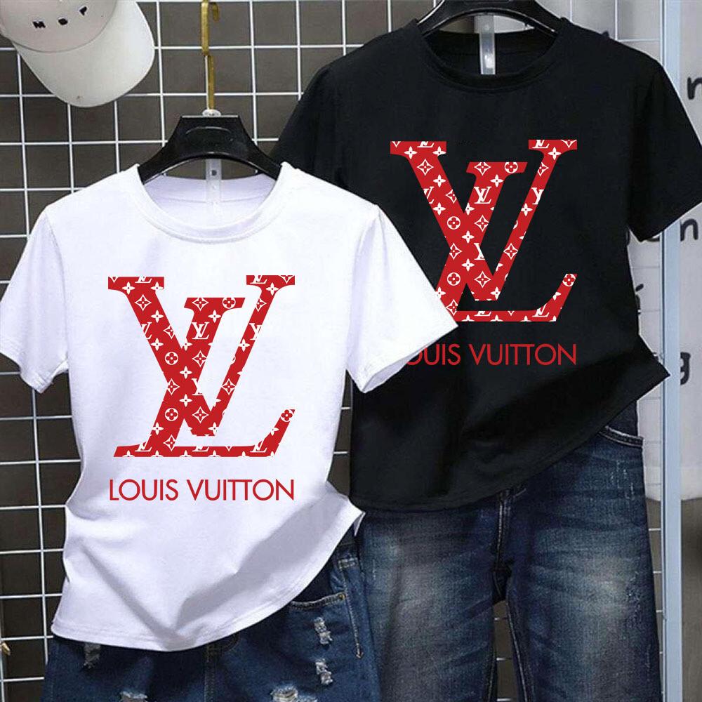 2021 High Quality Luxury Brand Name Fashion Shirt, High Fashion LV for Women Men Boy Girl Trending Unisex Hoodies Sweatshirt T Shirt