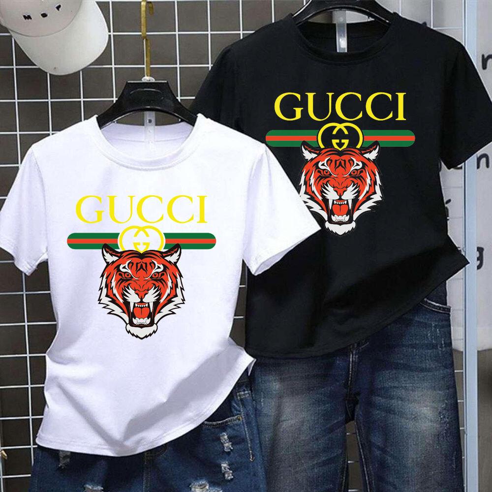 2021 High Quality Luxury Brand Name Fashion Shirt, High Fashion Tiger Lion GC for Women Men Trending Unisex Hoodies Sweatshirt T Shirt