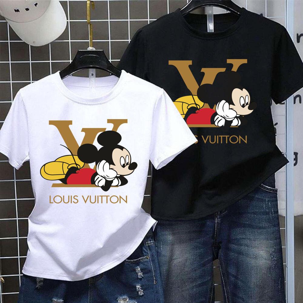 2021 Luxury Brand Name Shirt, High Fashion Disney Mickey Minnie GC for Women Men Trending Unisex Hoodies Sweatshirt T Shirt