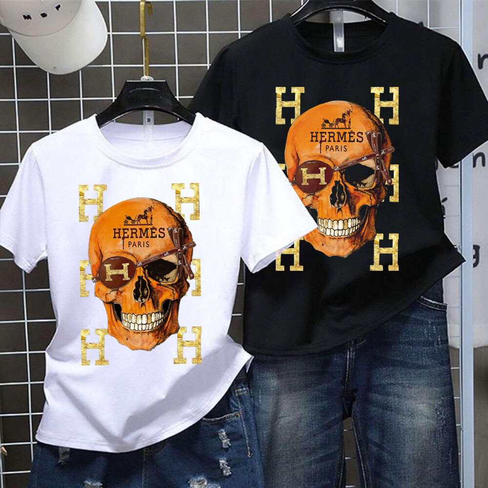 2021 High Quality Luxury Brand Name Fashion High Fashion Gift Shirt Skull Logo for Women Men Trending Unisex Hoodies Long Sleeve Tank Top V Neck Kid Shirt
