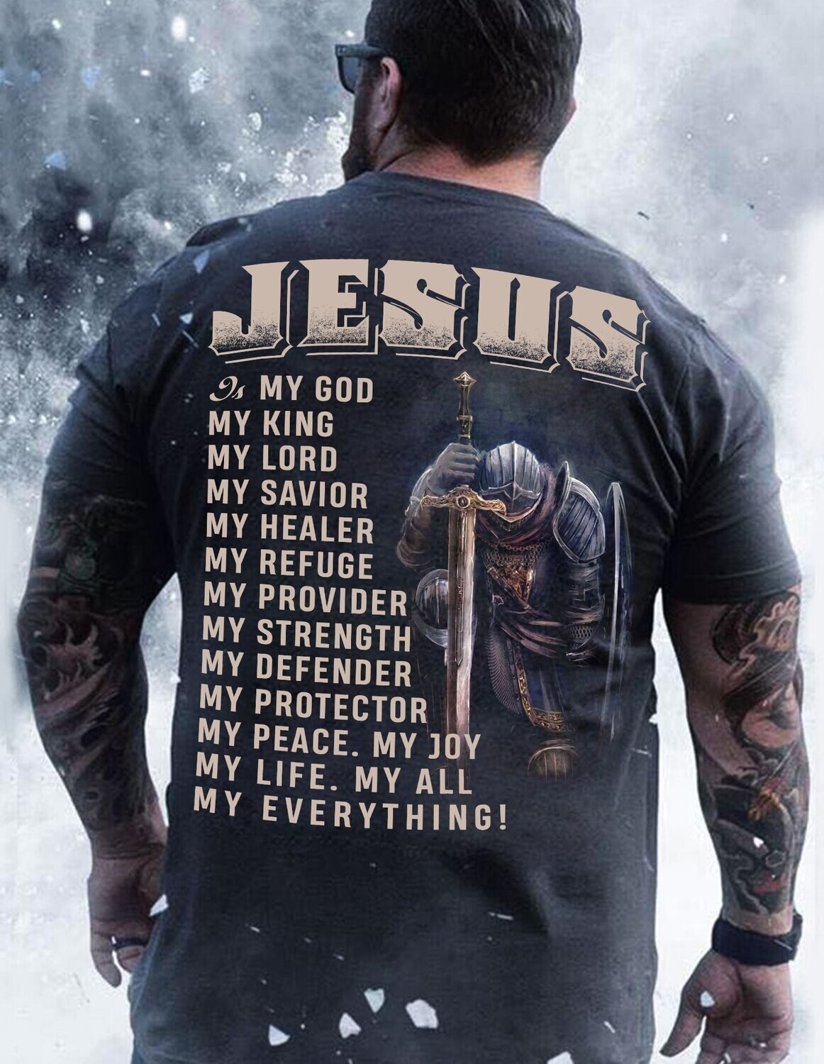 Jesus My God My King My Lord American Flag , Father's Day gift , Gift for dad, Shirt For Dad, Daddy shirt Trending Hoodies Sweatshirt Long Sleeve V Neck Tank Top Kid Tee T Shirt