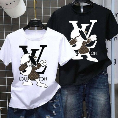 2021 Luxury Brand Name Shirt, High Fashion Snoopy Love GC for Women Men Trending Unisex Hoodies Sweatshirt T Shirt