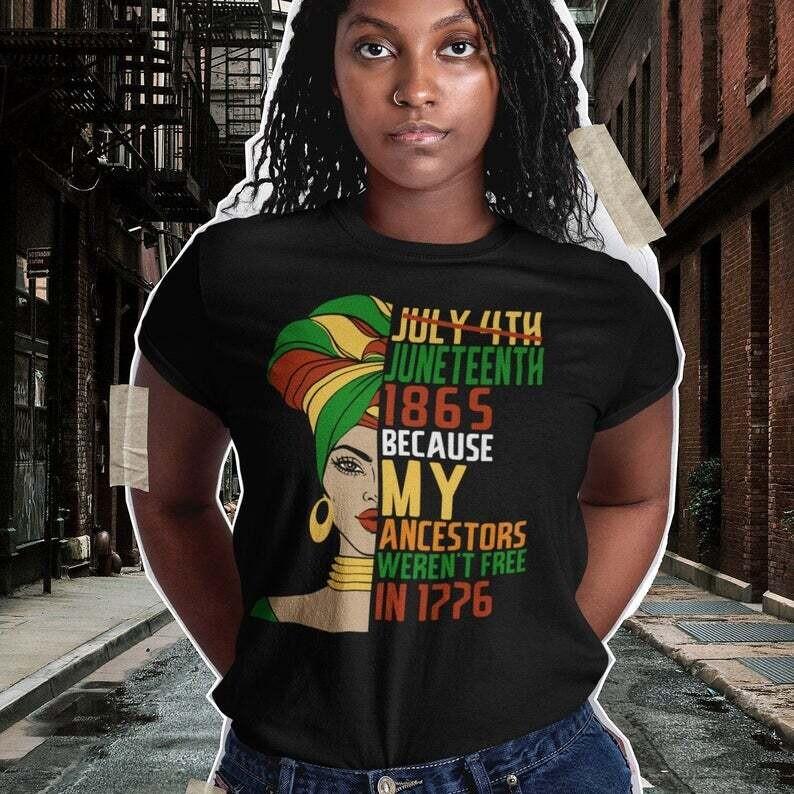 Juneteenth 1865, Juneteenth Party Shirt, Black Culture Shirt, Juneteenth Heart Gift , Black Live Matter Gift Trending Unisex Hoodies Sweatshirt Tank Top V neck T Shirt