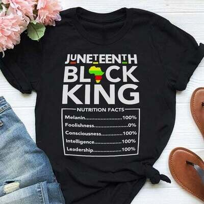 Juneteenth Black King Nutritional Facts Shirt, Peace Love Juneteenth Shirt, Juneteenth 1865, Juneteenth Heart Gift , Black Live Matter Gift Trending Unisex Hoodies Sweatshirt Tank Top V neck T Shirt