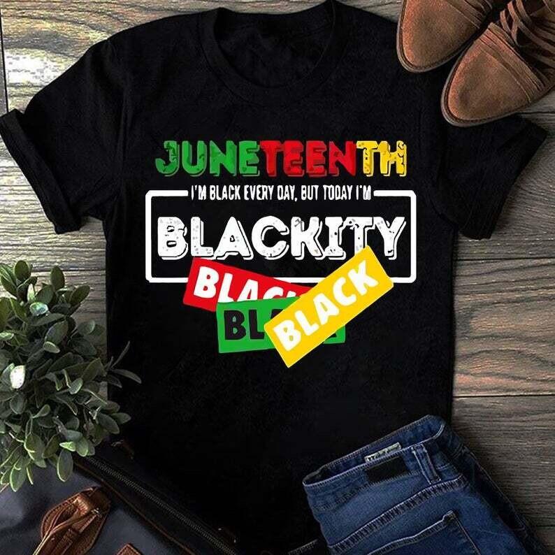Juneteenth Blackity Tshirt, Juneteenth Party Shirt, Black Culture Shirt, Juneteenth Heart Gift , Black Live Matter Gift Trending Unisex Hoodies Sweatshirt Tank Top V neck T Shirt