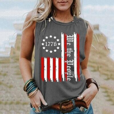 We the people Flag Shirt, 4th of July Shirt, America Flag Shirt, Independence Day Gift Trending Unisex Hoodies Sweatshirt Tank Top V neck T Shirt