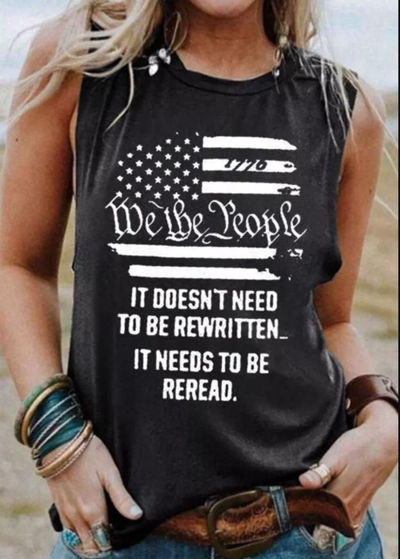 We the people Flag Tank Shirt, Patriotic Tank shirt , Vintage USA Flag 1776 Trending Unisex Hoodie Long Sleeve Sweatshirt Tank Top Vneck Kid Shirt