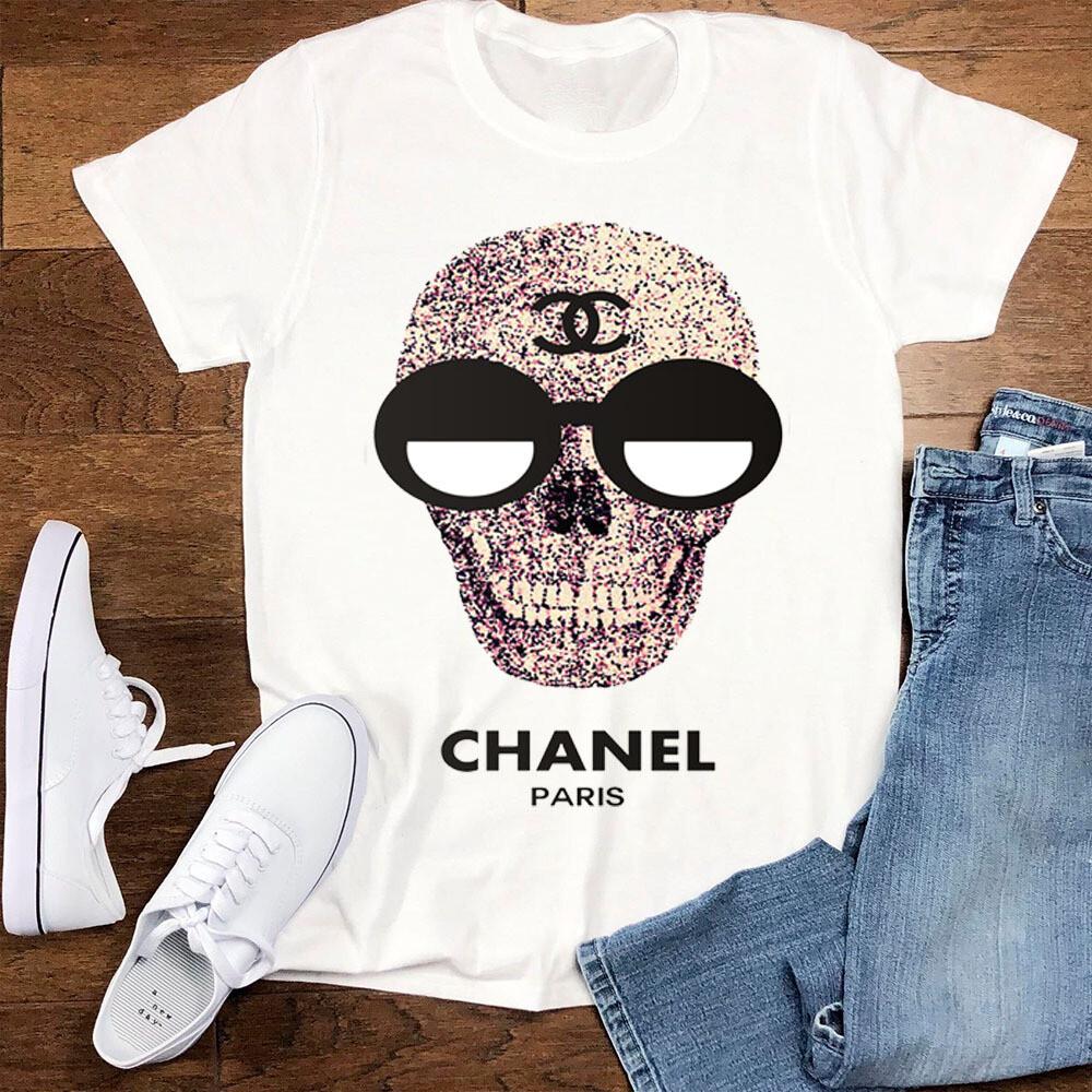 2021 Premium High Quality Luxury Brand Name Fashion High Fashion Gift Shirt CN Skull Logo for Women Men Trending Unisex Hoodies Sweatshirt TShirt