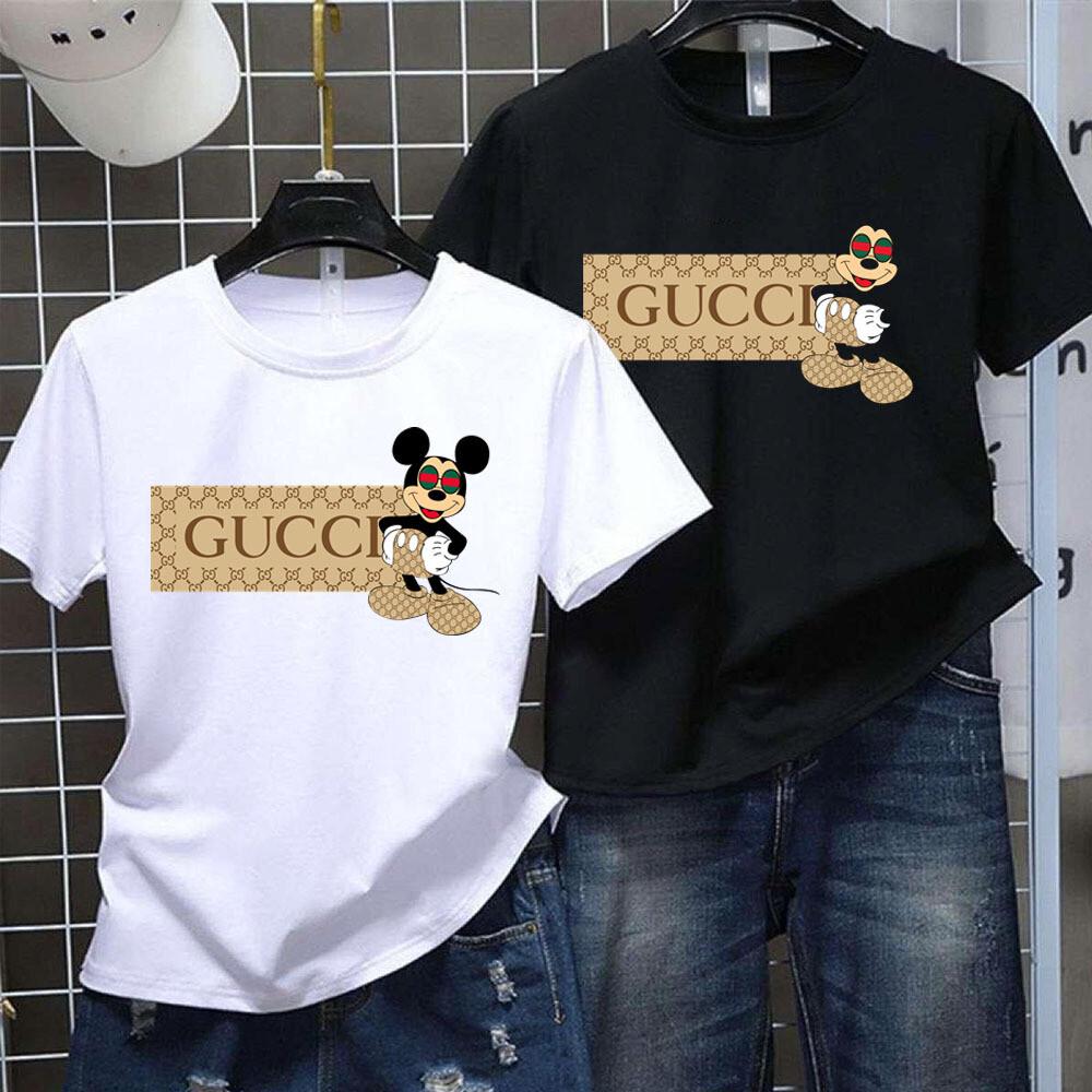 2021 High Quality Luxury Brand Name Fashion High Fashion  GC Mickey  Trending Unisex Hoodies Sweatshirt T Shirt