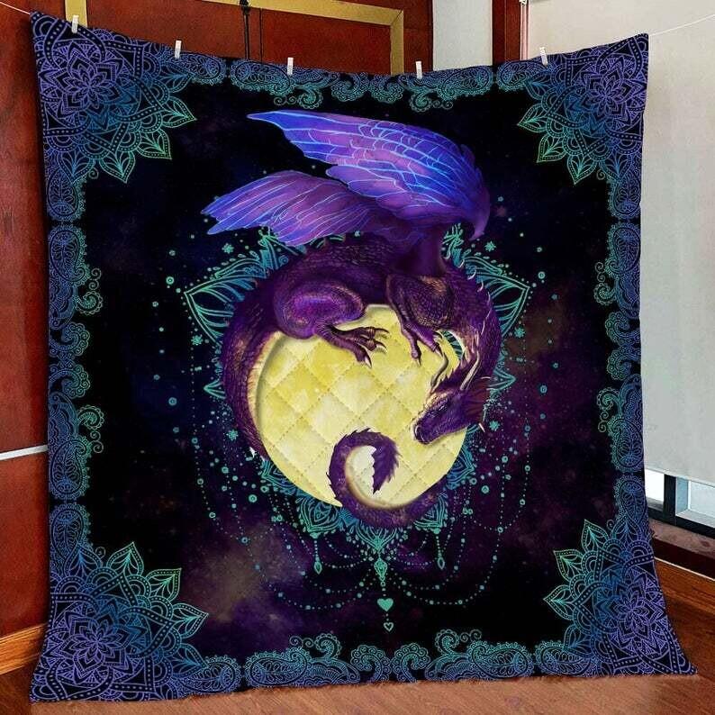 Dragon Of The Moon All Season Blanket