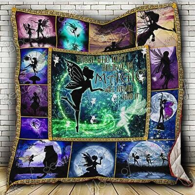 Fairies In The Magic World All Season Blanket