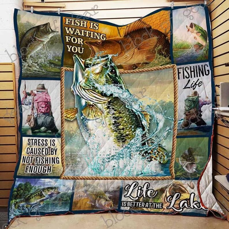 Bass Fishing All Season Blanket