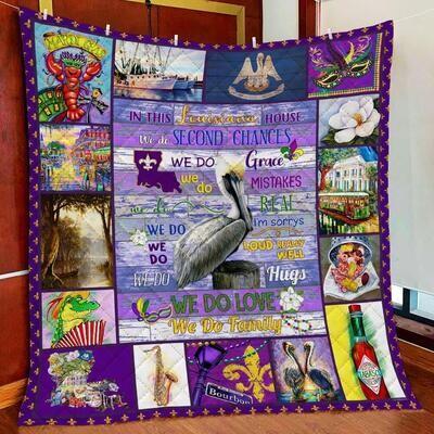 Louisiana House All Season Blanket