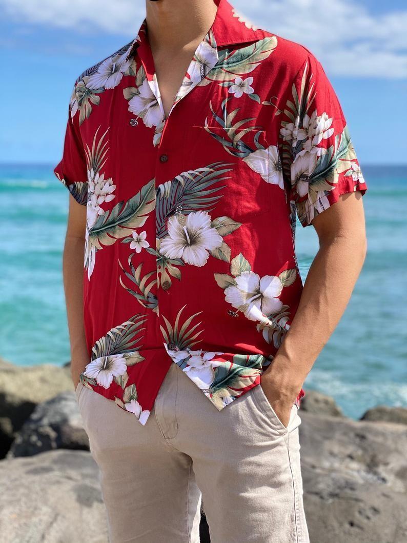 Made in Hawaii-Super Soft Rayon Hawaiian Vintage
