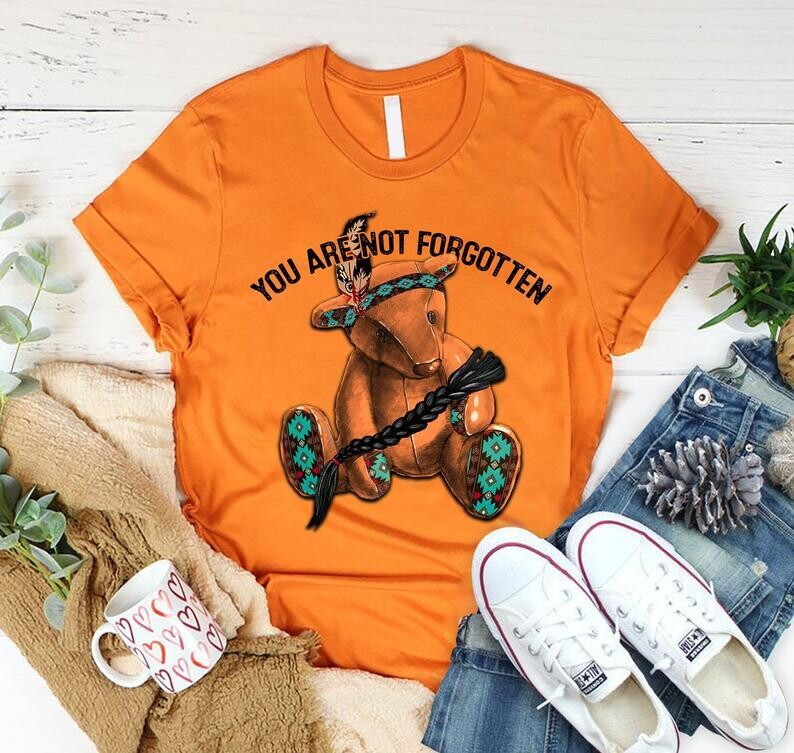 You Are Not Forgotten Shirt, Indigenous Orange Day Shirt, Every Child Matters Shirt, Orange Shirt Day Shirt, 215 children Shirt