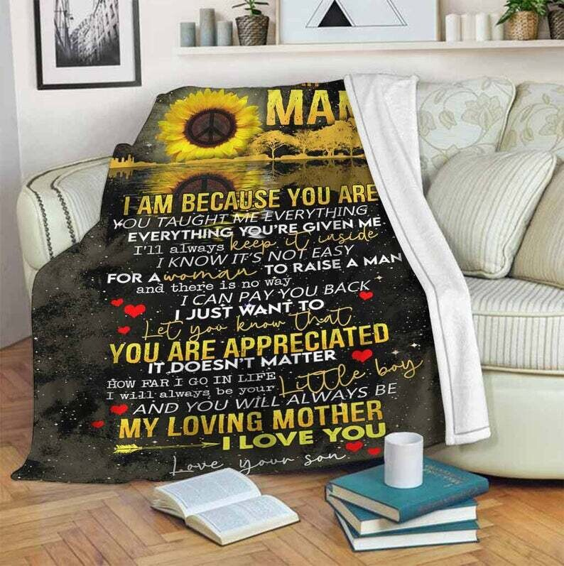 Dear Mama I Just Want To Let You Know That You Are Appreciated Blanket, Gift For Fan
