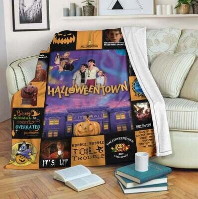 Mofi Halloweentown Blanket, Annivesary Gift, Special Gift, Gift For Fan