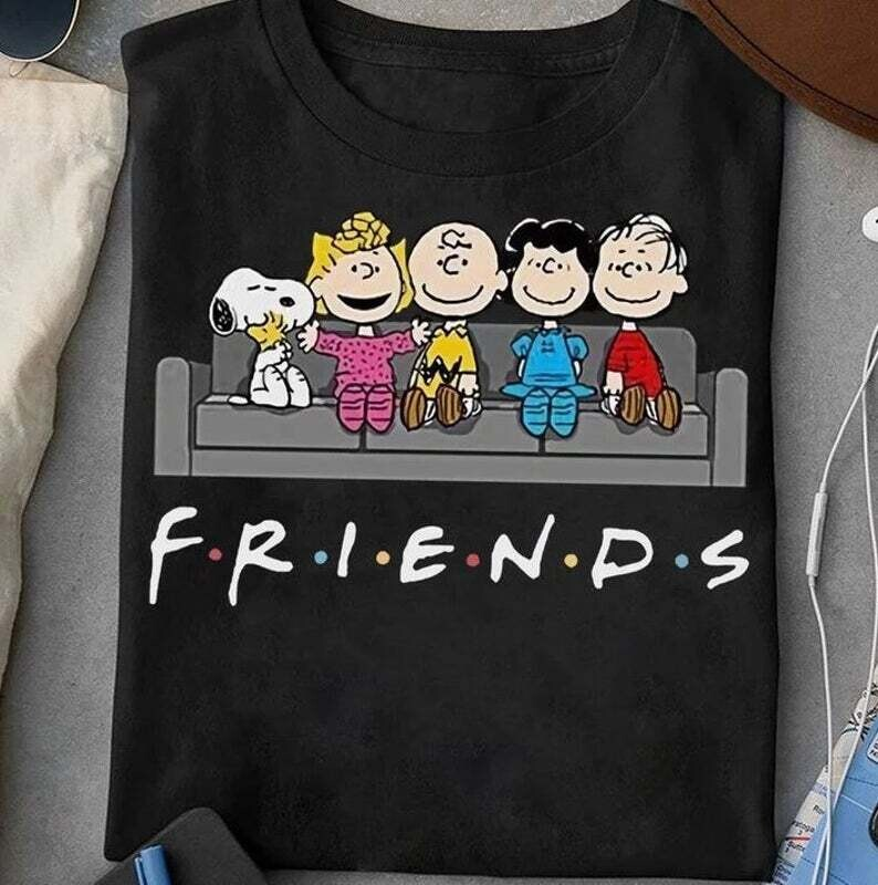 Snoopy Shirt, Peanuts Friends Shirt, Snoopy And Friends Shirt, Snoopy Lover