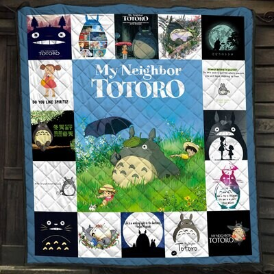Studio Anime Characters Japanese Blanket, Studio Anime Blanket, Anime Blanket, Anime Lover, Anime Blanket, Movie Lover,Blanket gift