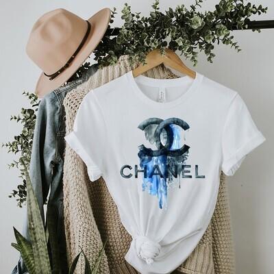 Watercolor Fashion Logo GC Shirt, GC T-shirt, GC Logo, GC Fashion shirt, Fashion shirt,GC Design shirt, Flower Fashion GC vintage shirt Unisex T-Shirt Hoodie Sweatshirt Sweater for Ladies Women Men