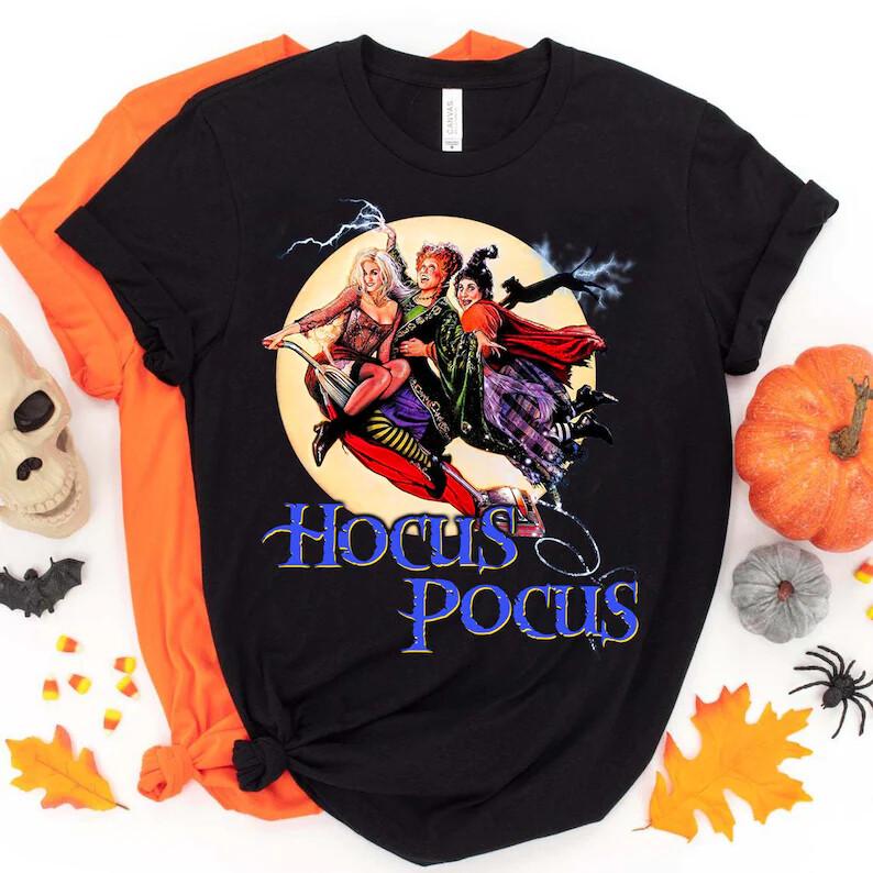 Hocus Pocus Halloween tshirt, Sanderson Sisters Shirt, Halloween 2021, Winifred Sarah Mary shirt, Halloween 2021 Trending Unisex Tank Top Sweatshirt Hoodie Long Sleeve T Shirt