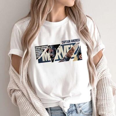 Vintage Captain America Shirt, Marvel Comics Shirts, Eternals Marvel, Fan Art Drawing shirt, Halloween 2021 Trending Unisex Tank Top Sweatshirt Hoodie Long Sleeve T Shirt