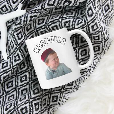 Hasbulla-Funny-Magomedov Hasbullas Mini Khabibs Hasbullah vs Abdu Rozikk Russian Kids Fighting Mug Funny Gifts,Tea Cup,White Mug 11 Oz,15 Oz Jolly Family Gift