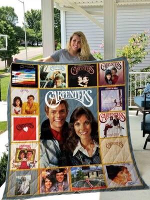 Carpenters Quilt Blanket 01 Men Birthday Shirt for 1st Day of School Black Large Jolly Family Gift