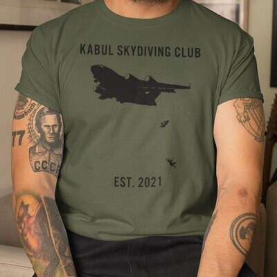 Kabul Skydiving Club Trending Unisex Tank Top Sweatshirt Hoodie Long Sleeve T Shirt Jolly Family Gift