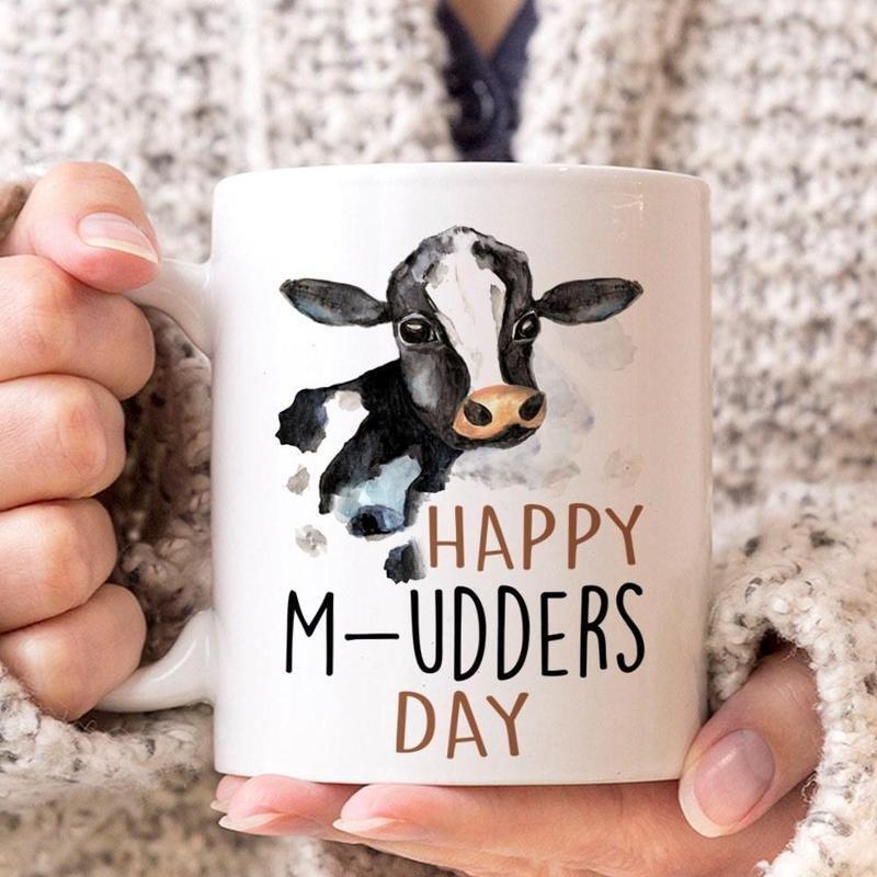 Happy M-udders day Mug 11oz 15oz Jolly Family Gift