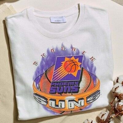 NEW Phoenix Suns Vintage 90s T-Shirt Vintage Gift For Men Women Funny White Tee, Gift For Fan Trending Hoodie Sweatshirt Sweater for Ladies Women Men