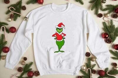 The Grinch Cute Christmas Swearshirt Hoodie Funny Grinch Shirt Christmas Grinch My Day Shirt Merry Christmas Trending Hoodies Sweatshirt Long Sleeve V Neck Tank Top Tee  Shirt