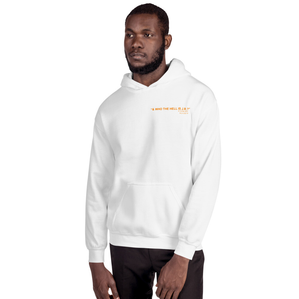 """& who the hell is J.R.?"" - UT Edition Hoodie"