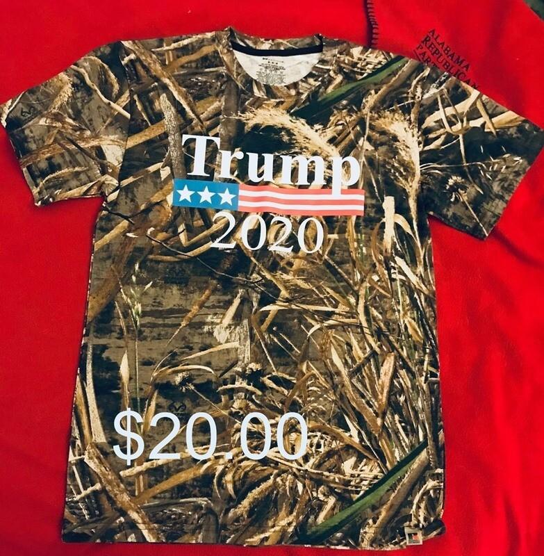 T-Shirt - Camo - TRUMP 2020