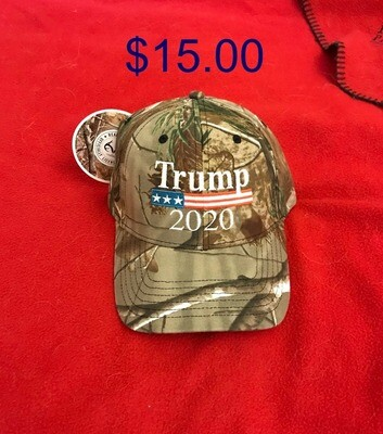 Ball Cap - Camo - TRUMP 2020