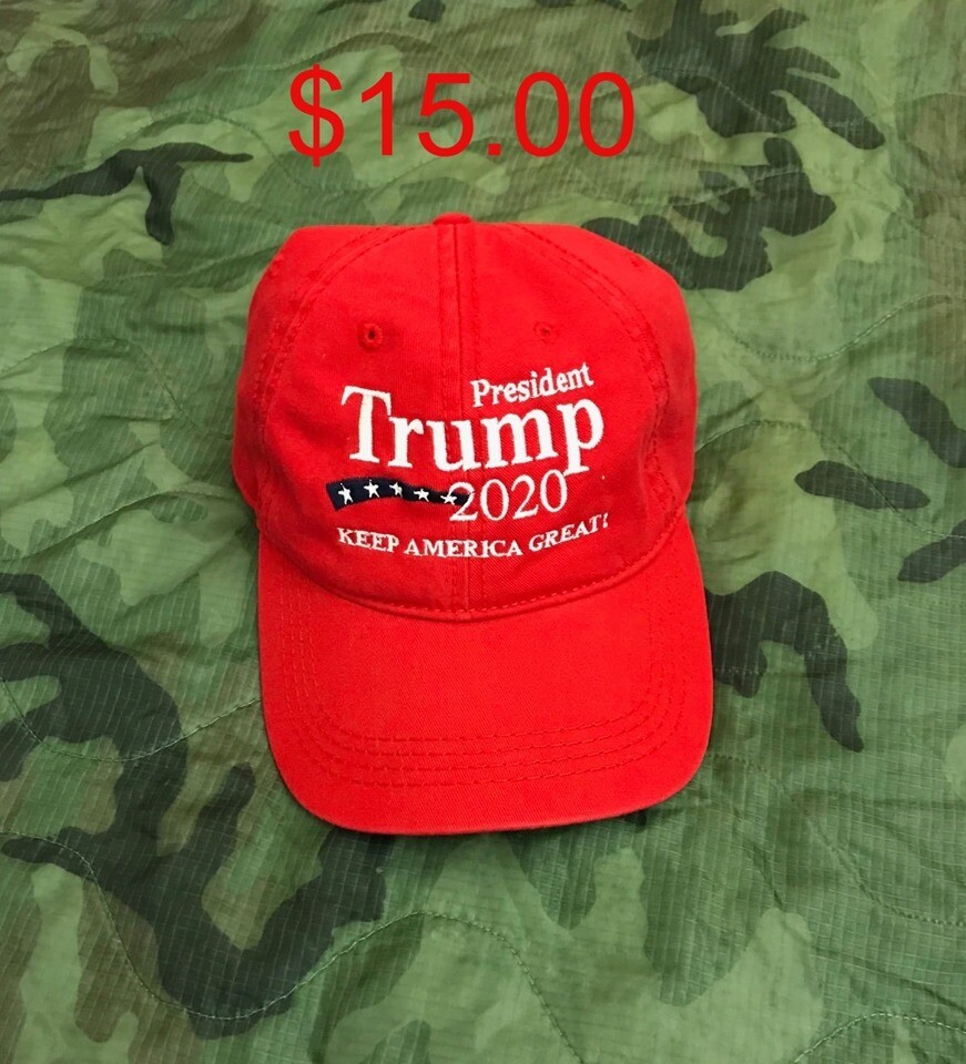 Ball Cap - Red - Trump 2020 Keep America Great