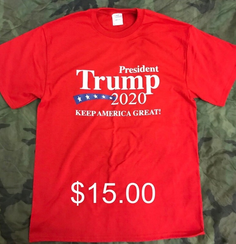 T-Shirt - Red - TRUMP 2020 Keep America Great!