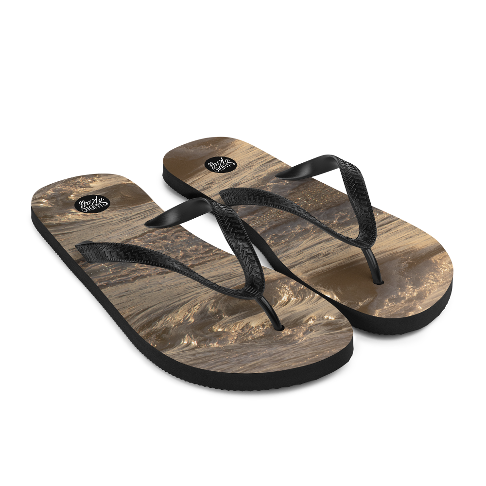 Sunset Surf Flip-Flops