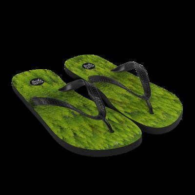 Forest Kaleidoscope Flip-Flops