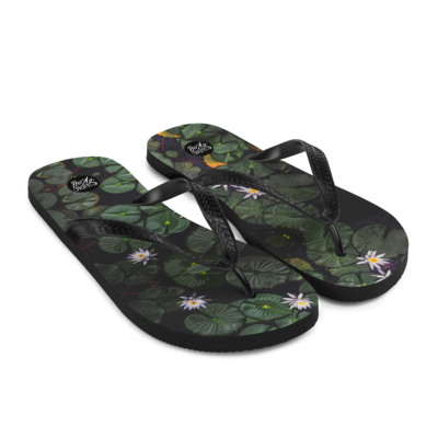 Lily Pad Flip-Flops