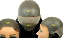 CQ-3000  All skin polyurethane base Unisex design  hair replacement system prosthetic hairpieces Hair Length: 14""