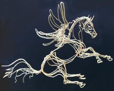 Hovering Pegasus