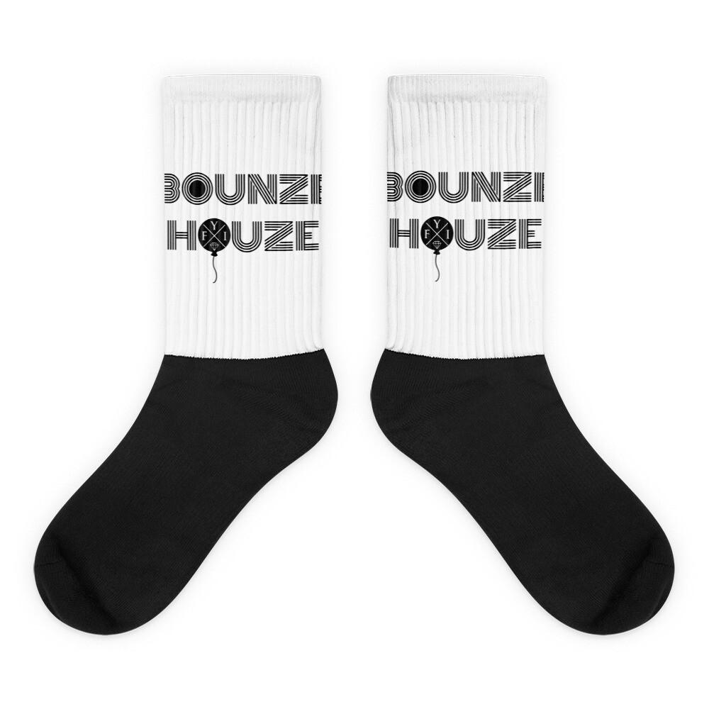 "Bounze Houze ""boosties from the free throw line"" Socks"