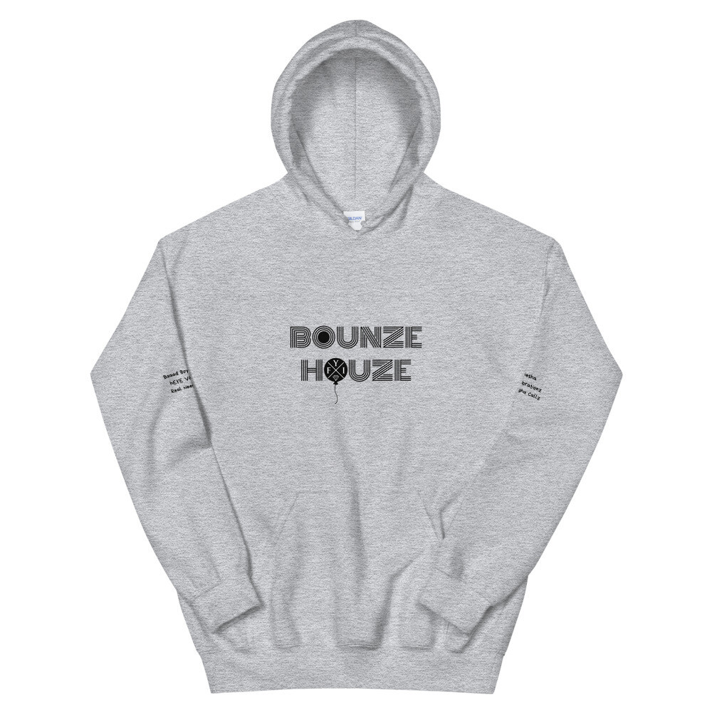 "Bounze Houze ""in the lab on the pots n' pans"" Hoodie (unisex)"
