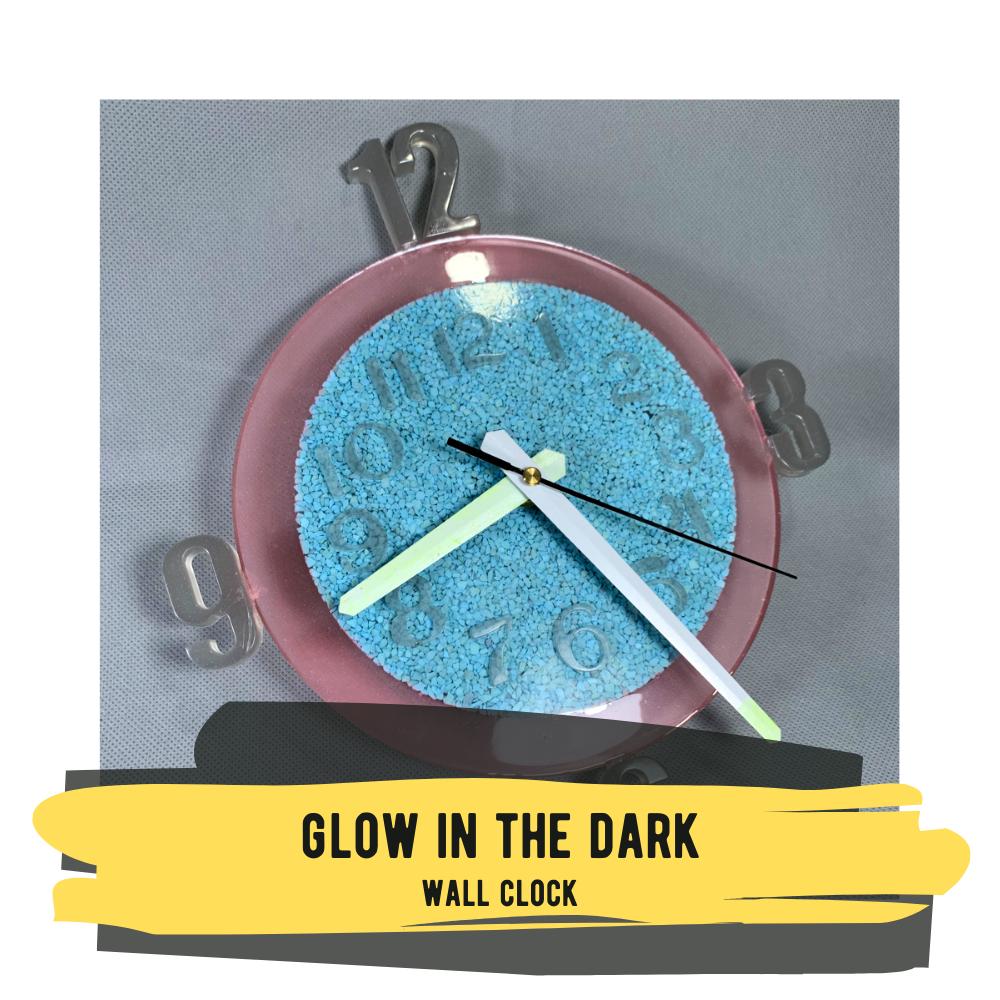 Glow-in-the-Dark Wall Clock