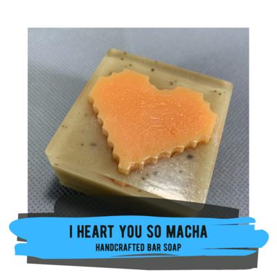 Bar Soap - I Heart You So Matcha